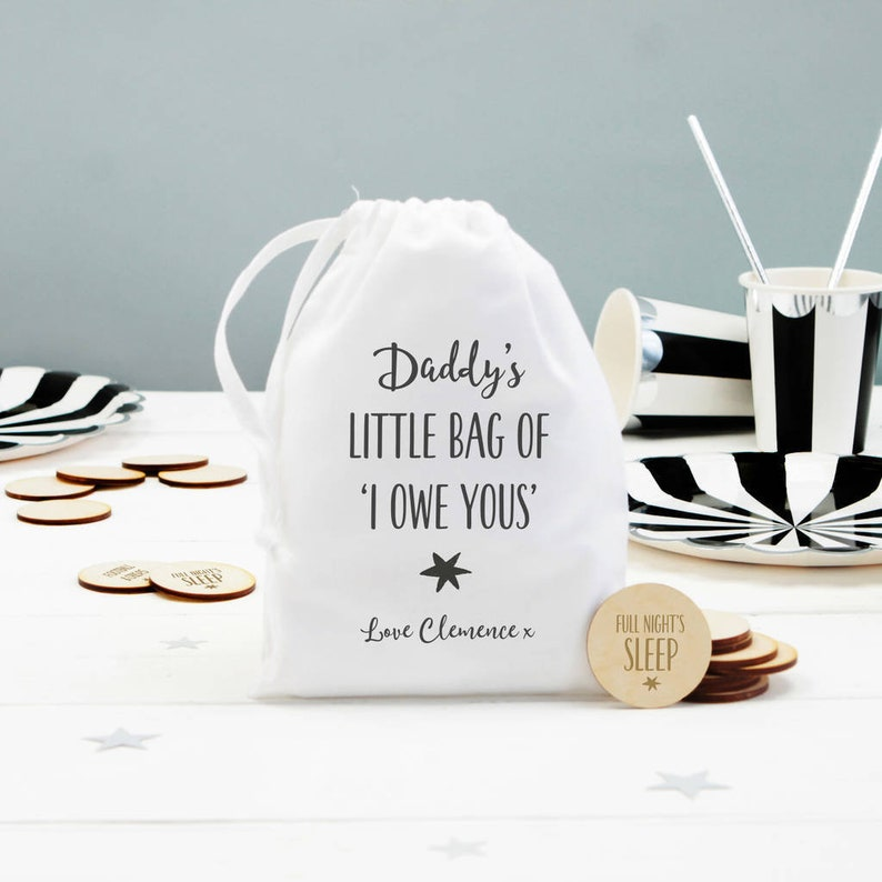Personalised I Owe You Tokens Gift Ideas For Dad Step
