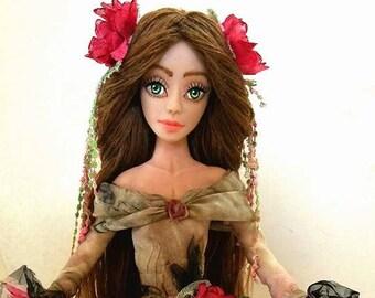 Art Doll ,sculpture, collectible, OOAK