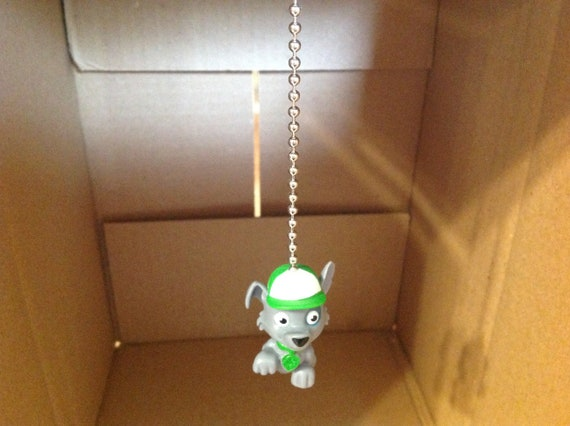 Paw Patrol Ceiling Fan Pull Light Lamp Chain Decoration-PAW PATROL-ROCKY