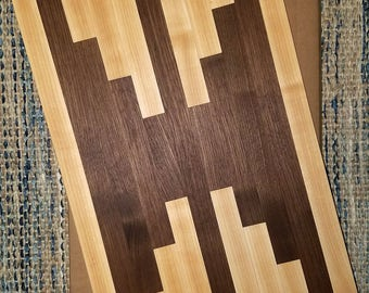 Walnut Maple cutting board chopping board 12 in x 18 in