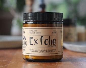 EXFOLIE / Body scrub, face scrub, scrub, whipped soap, shower cream