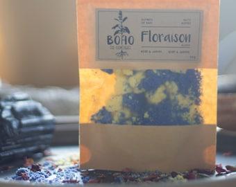FLORAISON / Bath bombs, bath bomb, effervescent bomb, bath cubes, effervescent powder