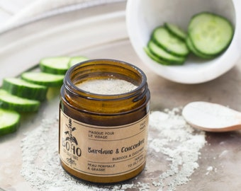 Oily or acne mask / Mask, face mask, facial, normal skin, oily skin, mixed skin, acne, natural cosmetics