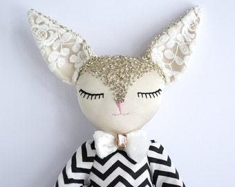 Filomena, little fennec fox toy