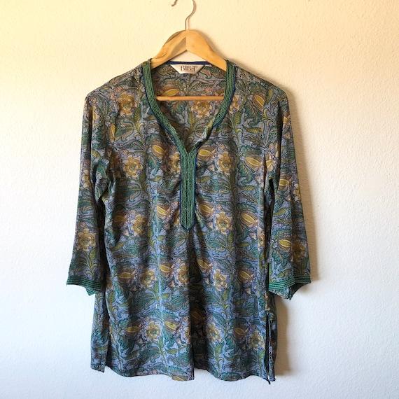 Vintage 1970's BIBA tunic shirt