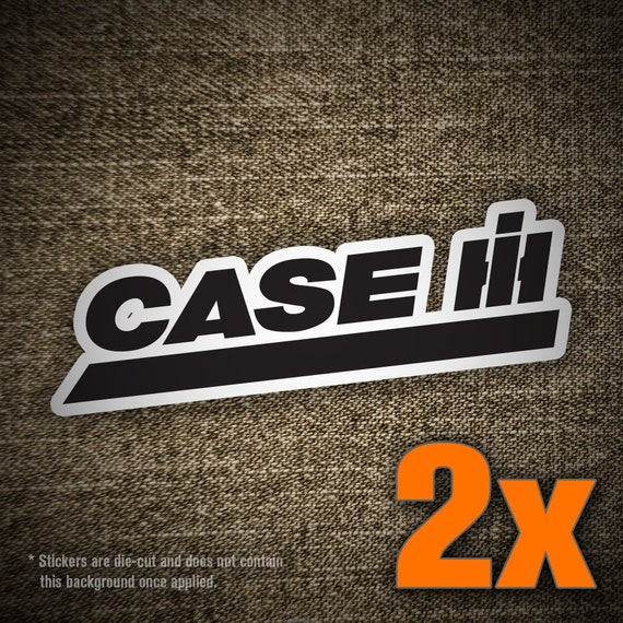 2x Case IH Vinyl Decal Sticker For Car Truck Window Laptop