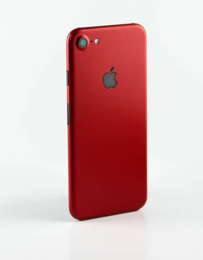 the latest fd0f1 da7dc Red Iphone 8 , 8+, 7 or 7+ vinyl wrap skin