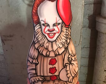 NEW Pennywise IT Inspired Plush Doll or Ornament
