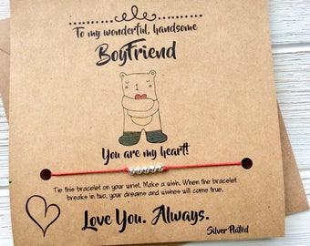 Anniversary Gifts For Boyfriend Birthday Card Boyfriend Gift