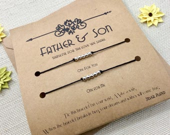 Christmas For Father And Son Dad Gift From Gifts Birthday Card Matching