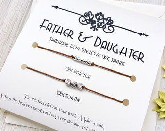 Dad Birthday Gift Fathers Day From Daughter Card Father Gifts