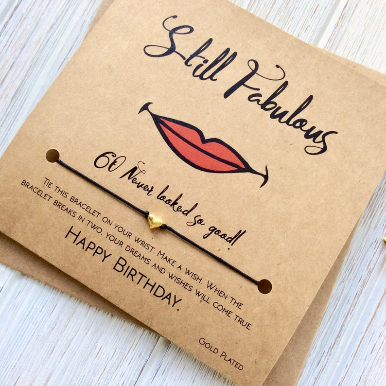60th Birthday Gifts For Women Card