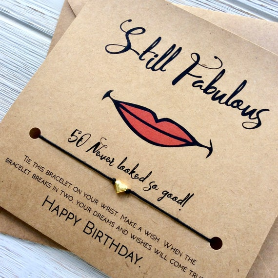 50th Birthday Gifts For Women Gift 50 And