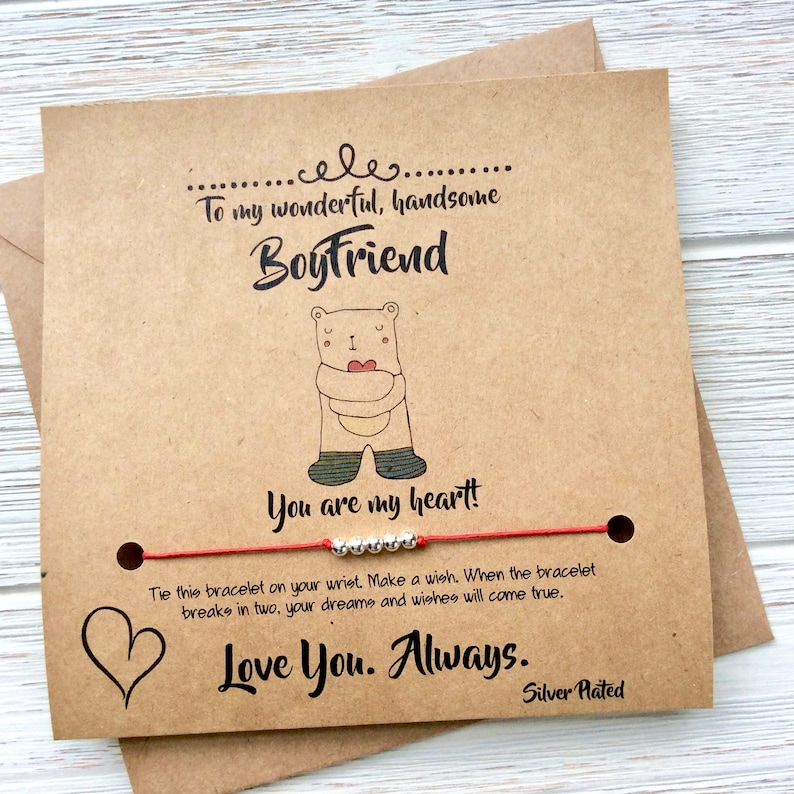 Boyfriend Birthday Card Anniversary