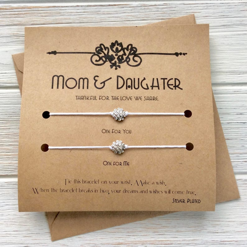 Birthday Gifts For Mom Gift From Daughter Card Mother
