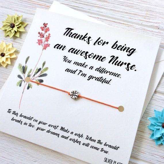 Nurse Gifts For Nurse Gift For Nurse Thank You Card Nurse Etsy