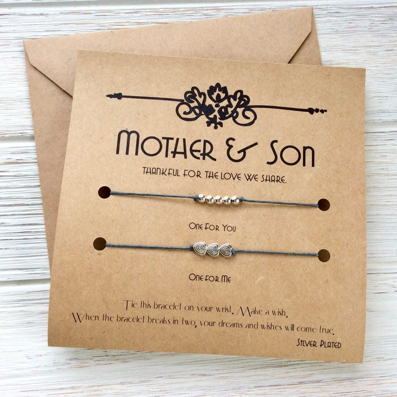 Mother And Son Gifts Mothers Day Gift From Birthday
