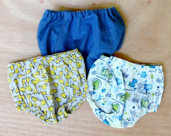 Boys baby bloomers. Diaper cover