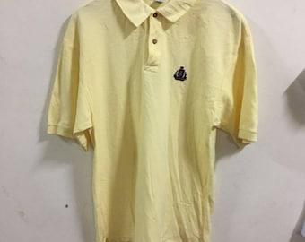 0f80d8bd Izod Polo Shirt Size S Yellow golf shirt