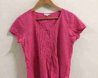 cde08395 Eileen Fisher Pink Tops Shirt Size S women shirt tee blouse