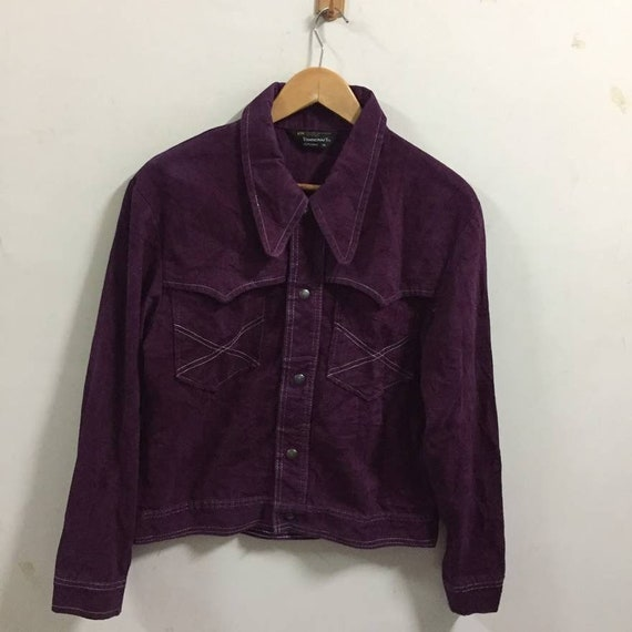 Vintage Towncraft JC Penney Velvet Jacket Size M