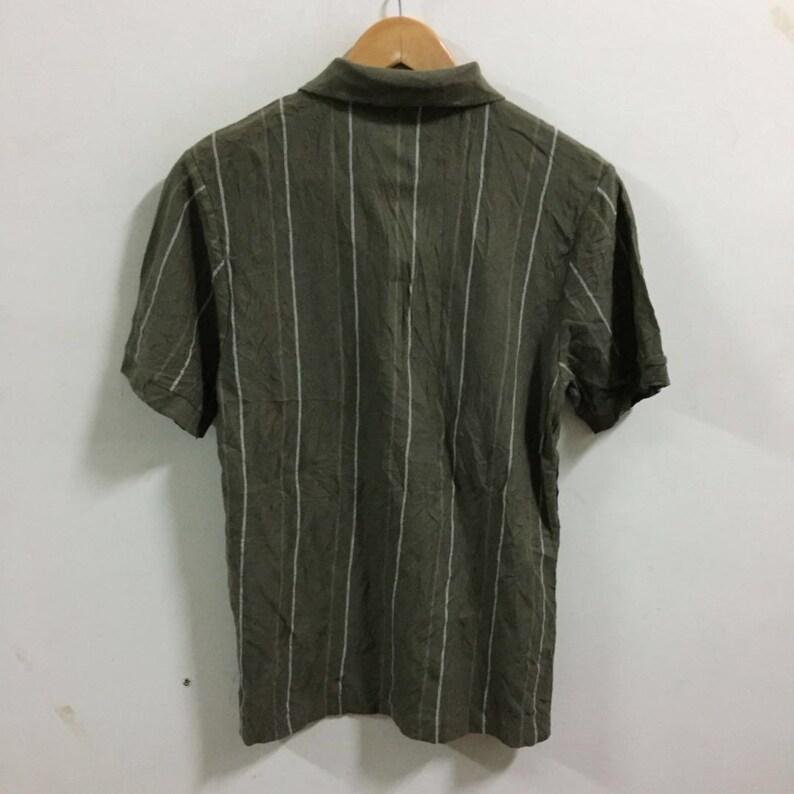 Kansai Jeans Polo Shirt Size M green short sleeve