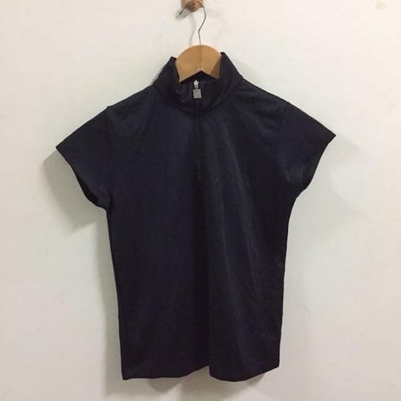 Courreges Sport Futur Jersey Size 38 Jersey Black