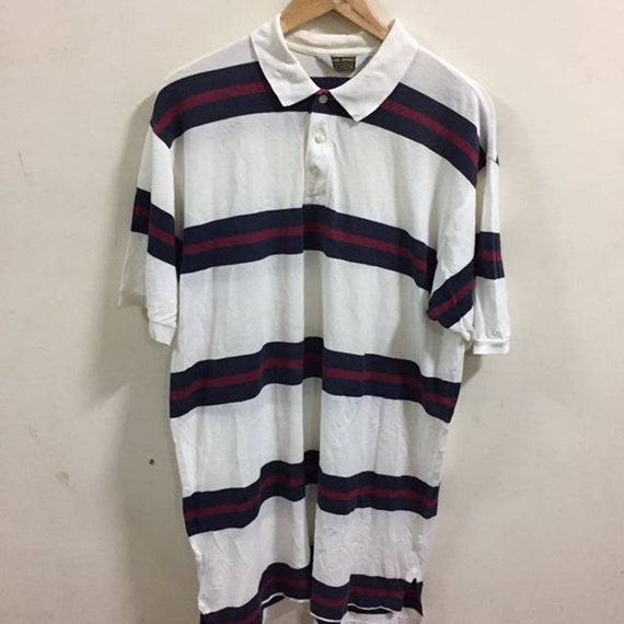 Brooks Brothers Striped Polo Shirt Size M  f687c2f4d
