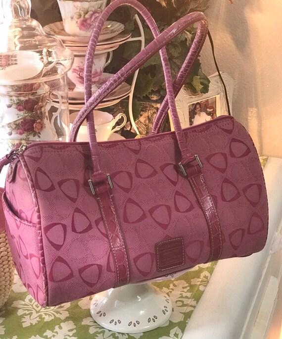 Liz Claiborne Pink Satchel Handbag, Pink Handbag,