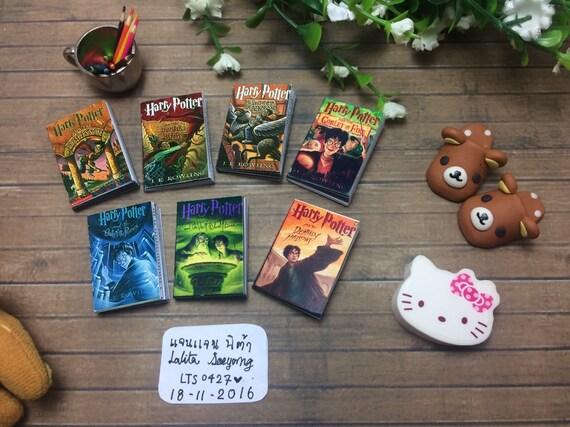 Livres de la poupée: Harry Potter livre ensemble pour les poupées