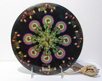 Peter Max Wall Clock Vintage Psychedelic Retro Hippie Vintage 1970's General Electric