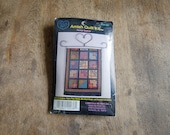 Cross My Heart - Amish Quilt Kit - Flower basket - Counted Cross Stitch Kit