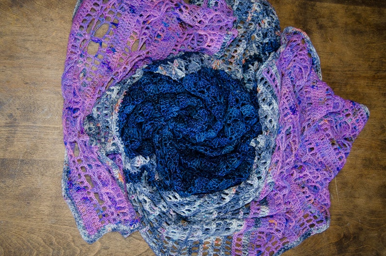 PDF Crochet Pattern The Crossfield Wrap