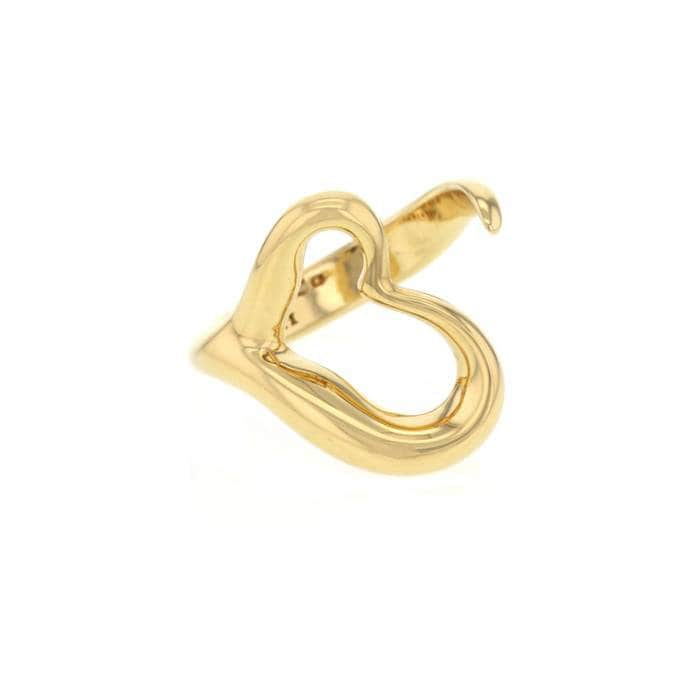 ad830a641ca94 Elsa Peretti for Tiffany & Co Open Heart Ring 18k Yellow Gold