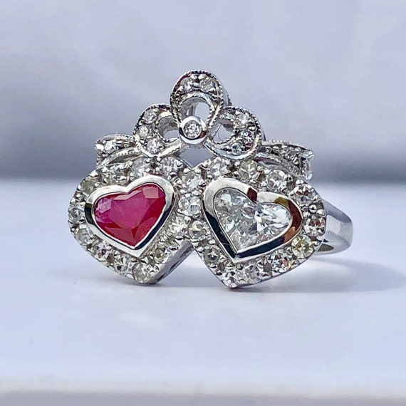 Birthstone Ruby Ring, Birthstone July Ring, Commit