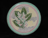 Tropical Flower Wall plate