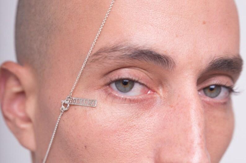 Large Hoop Studs Stud Outline Earring Large Hoop Studs Curved Large Circle Earrings Earring Silver Circle Posts Modern Ear Posts Silver