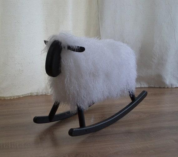 Super Rocking Sheep Sweet Lamb Black Head Christmas T Baby Shower T Rocking Horse Rocker Nursery Inzonedesignstudio Interior Chair Design Inzonedesignstudiocom