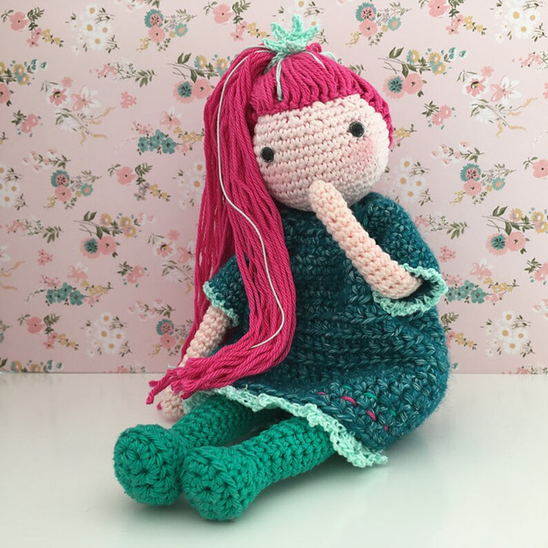 Crochet doll PATTERN, AMIGURUMI pattern, amigurumi doll pdf ... | 794x794