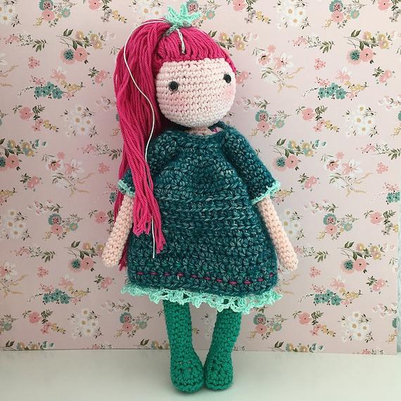 Dress Up Dolls Amigurumi Crochet Patterns - Crochet Pattern Book | Crochet  amigurumi, Dress up dolls, Crochet | 570x570