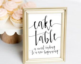 Wedding Cake Table Etsy