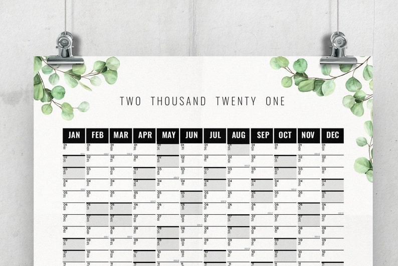 Jahreskalender 2021/2021