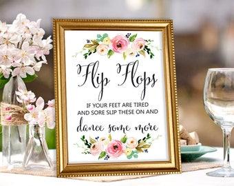 210ba3190c0 Wedding flip flops for guests