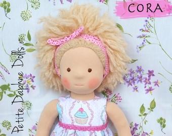 """Waldorf Doll,  19.5"""" (50 cm), handmade cloth doll"""