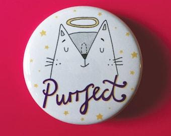 Purrfect Badge
