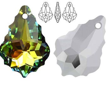 Swarovski Crystal 6090 Baroque 16mm, 22mm - Sahara