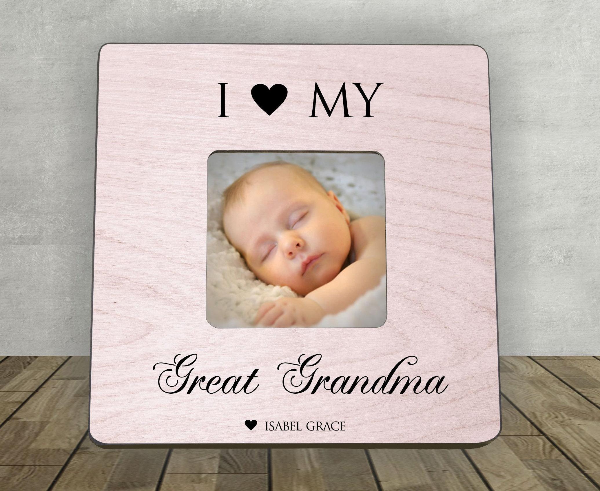 Tolle Oma-Bilderrahmen für Urgroßmutter personalisierte | Etsy