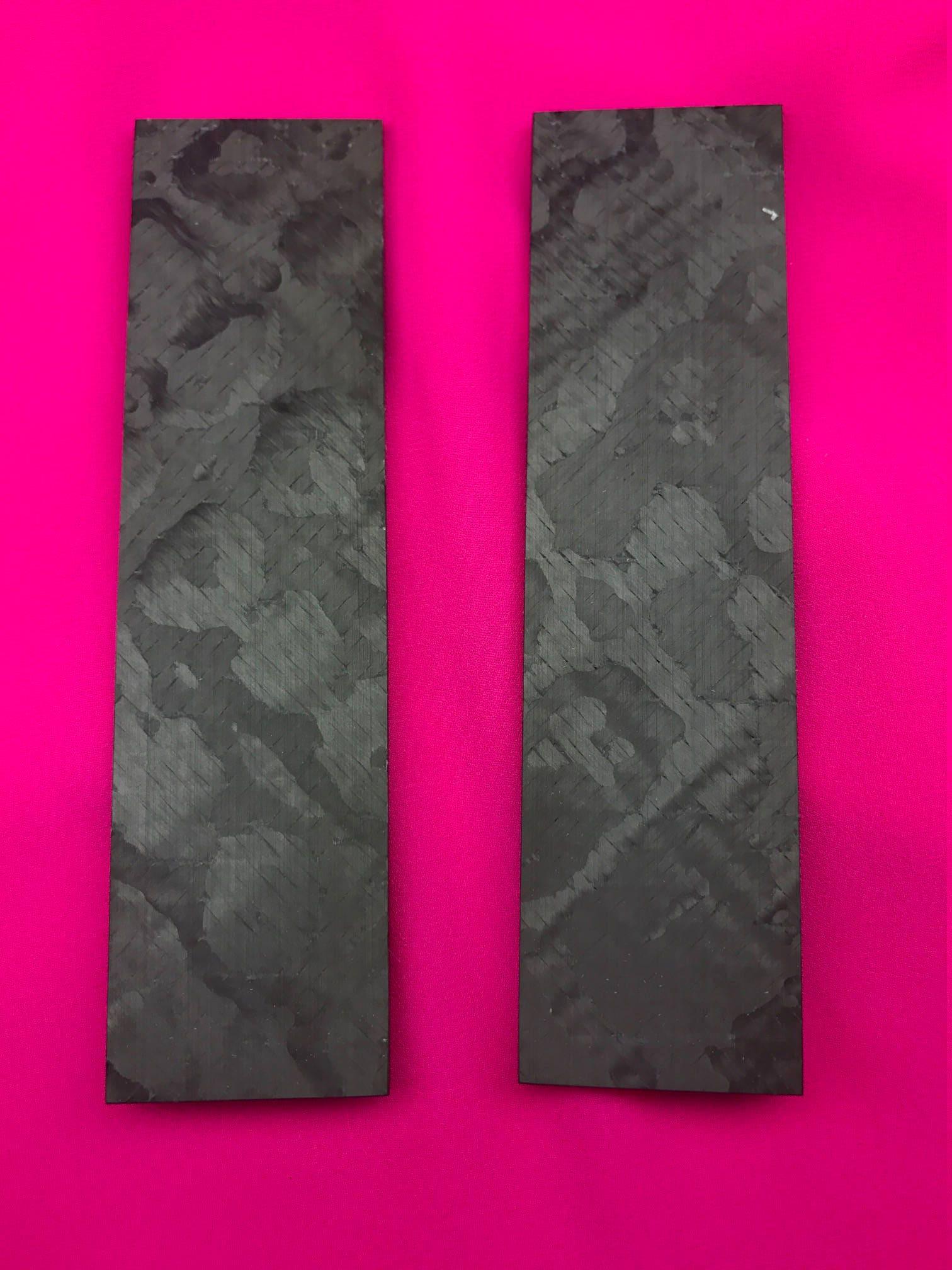 Cheetah Carbon Fiber Knife Scales