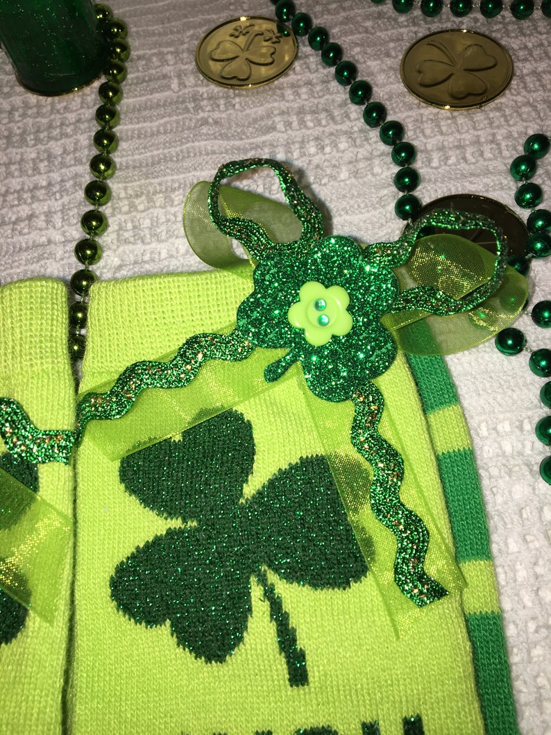 6ff6e8cb7 Irish Pinch Proof Ladies Socks St. Patricks Day Socks St. | Etsy