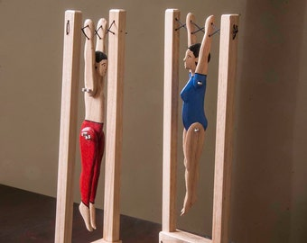 Wooden Acrobat Toy